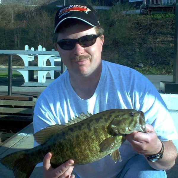 Popp with Smallmouth